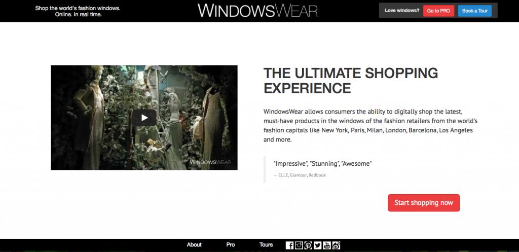 Windows Wear Pro, Visuaalinen markkinointi