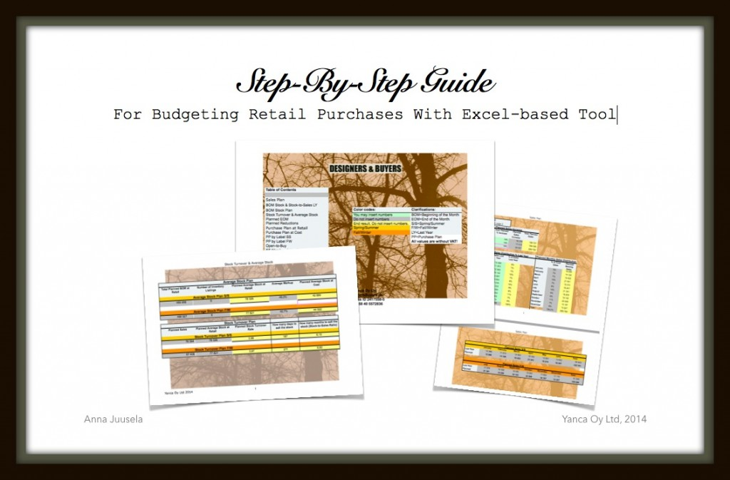 Online Course: Step-By-Step Guide For Budgeting Retail Purchases